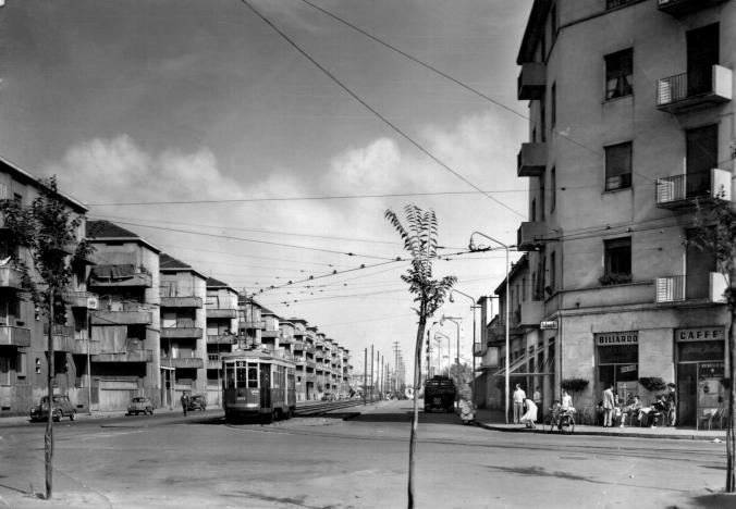 Milano Giambellino anni sessanta